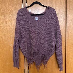 main strip sweater